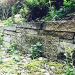 Sandsteinmauer